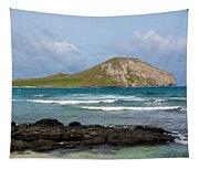 Honolulu Hi 5 Tapestry