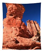 Hoodoo And Towers Tapestry