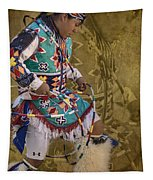 Hoop Dancer Past And Present Tapestry