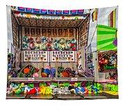 Hoop Shots Tapestry