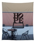 Hope And Chairs Tapestry