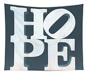 Hope Inverted Denim Tapestry