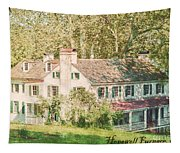 Hopewell Furnace In Pennsylvania Tapestry