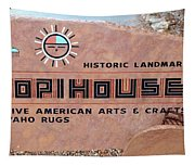 Hopihouse Sign Tapestry