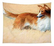 Hopper's Cape Cod Evening -- The Dog Tapestry