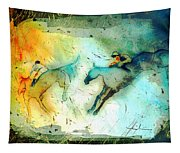 Horse Racing 02 Madness Tapestry