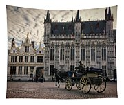Horse And Carriage Tapestry