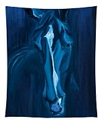 horse - Apple indigo Tapestry