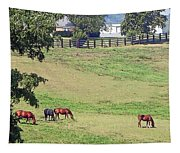Horse Country Tapestry