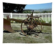 Horse Drawn Plow Tapestry