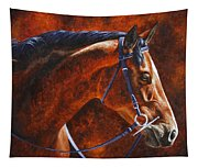 Horse Painting - Ziggy Tapestry