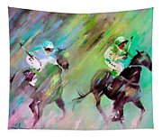 Horse Racing 04 Tapestry