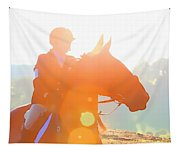 Horse Show Flares Tapestry