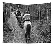 Horse Trail Tapestry