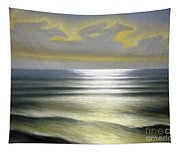 Horses Over Sea Tapestry