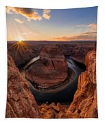 Horseshoe Bend Tapestry