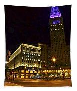 Horseshoe Casino Cleveland Tapestry