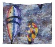 Hot Air Balloons Photo Art 02 Tapestry