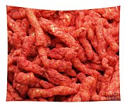Hot Chips - Fire - Spicy - Snack  Tapestry