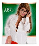 Hot For Teacher Tapestry