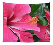 Hot Pink Hibiscus 2 Tapestry