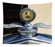 Hot Rod Car Instrument Detail Tapestry