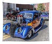 Hot Rod Car Tapestry