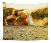Hot Water Pouring Tapestry
