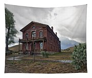 Hotel Meade - Bannack Ghost Town - Montana Tapestry