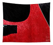 Hour Glass Guitar 4 Colors 1 - Tetraptych - Red Corner - Music - Abstract Tapestry