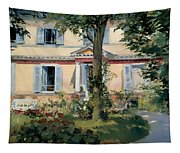 House At Rueil Tapestry