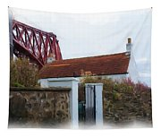 House At The Bridge Tapestry