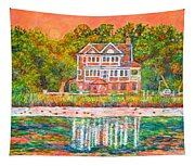 House By The Tidal Creek At Pawleys Island Tapestry