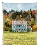 House By The Woods Tapestry