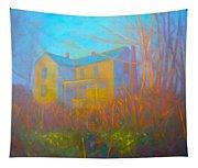 House In Blacksburg Tapestry