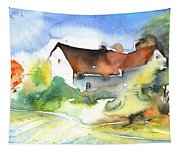 House In Germany Tapestry