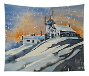 House On Hill Tapestry