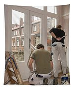 House Painters At Work Tapestry