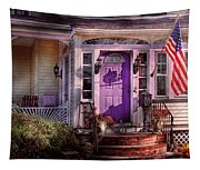 House - Porch - Cranford Nj - Lovely In Lavender  Tapestry