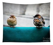 House Sparrows Tapestry