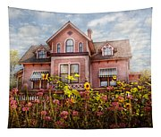 House - Victorian - Summer Cottage  Tapestry