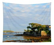 House With A View Tapestry