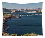 Houseboats At Marina At Lake Powell Tapestry