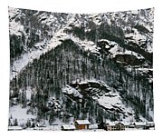 Houses In A Village In Winter, Tasch Tapestry
