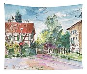 Houses In Soufflenheim Tapestry