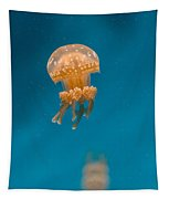 Hovering Spotted Jelly 1 Tapestry