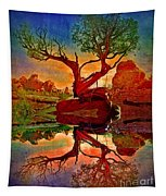 How One Tree Becomes Two Tapestry