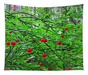 Huckleberry Bush Tapestry