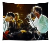 Huey Lewis-chris-gd15a-fractal-1 Tapestry