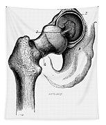 Human Hip Joint Tapestry